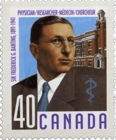 Physicians in Canadian History - Sir Frederick Banting